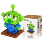 LOZ 120Pcs M - 9129 Toy Story Alien Building Block Educational Toy for Brain Thinking