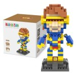 LOZ 260Pcs L - 9458 X-Men Cyclops Building Block Toy for Enhancing Social Cooperation Ability