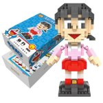 LOZ 360Pcs XXL - 9809 Doraemon Shizuka Minamoto Building Block Toy for Enhancing Social Cooperation Ability