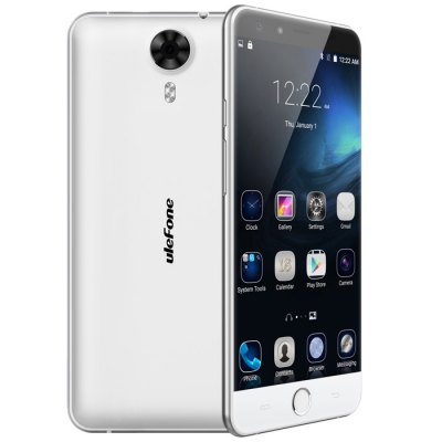 gearbest Ulefone Be Touch 3 MTK6753 1.3GHz 8コア WHITE(ホワイト)