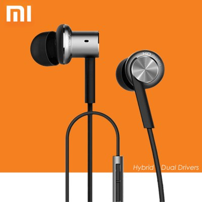 Xiaomi IV Hybrid Dual Drivers Earphones Silver