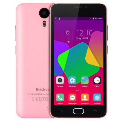 gearbest Blackview BV2000 MTK6735 1.0GHz 4コア PINK(ピンク)