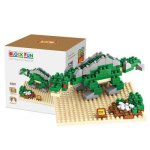 LOZ 190Pcs 9487 Jurassic Park Stegosaurus Figure Building Block Toy for Enhancing Social Cooperation Ability