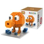 LOZ 380Pcs XL - 9618 Pixel Wars Porter Building Block Toy for Enhancing Social Cooperation Ability
