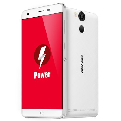 gearbest Ulefone Power MTK6753 1.3GHz 8コア WHITE(ホワイト)