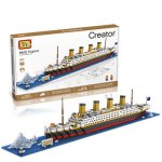 LOZ 9389 RMS Titanic Building Block Educational Toy 1680Pcs - World Great Architecture Series