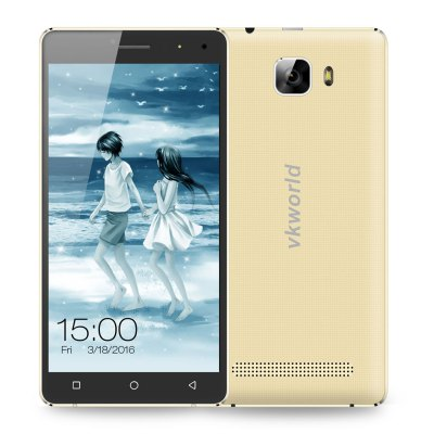 gearbest VKworld T3 MTK6735 1.0GHz 4コア CHAMPAGNE(シャンペン)