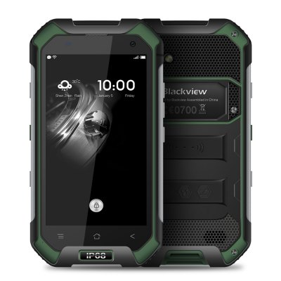gearbest Blackview  BV6000 MTK6755 Helio P10 2.0GHz 8コア GREEN(グリーン)