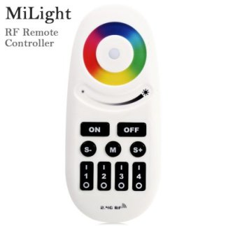 4 zones MiLight Smart Series Lighting 2.4G Télécommande sans fil RF RGBW