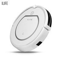 ILIFE V1 Smart Robotic Vacuum Cleaner Dry Wet Mopping Sweeping Voice Alarm
