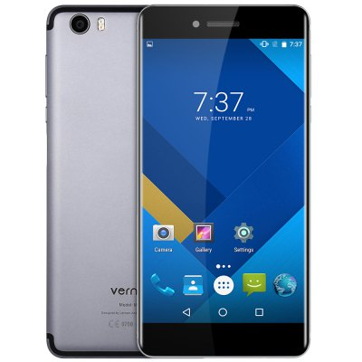 HK Warehouse Vernee Mars 5.5 inch Helio P10 Octa Core 2.0GHz 4GB RAM 32GB ROM 13.0MP Rear Camera Fingerprint Scanner Type-C OTG Corning Gorilla Glass 3 Screen 4G Smartphone