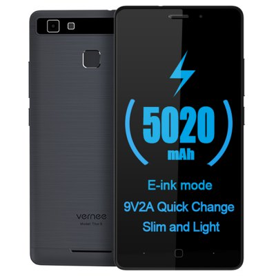 Vernee Thor E 4G Smartphone Android 7.0 5020mAh Battery E-ink Mode