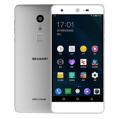 SHARP A1 ( FS8002 ) 5.5 inch Android 6.0 Helio X20 Deca Core 2.3GHz 4GB RAM 32GB ROM Fingerprint Scanner 16.0MP Main Camera 4G Smartphone