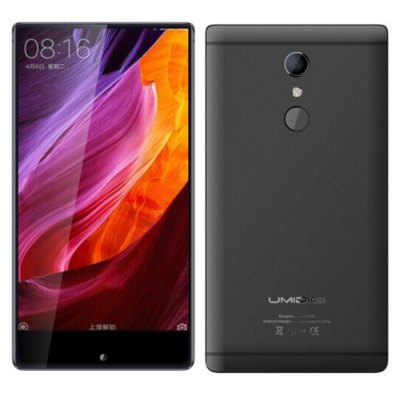 UMIDIGI Crystal Pro Android 7.0 MTK6750T Octa Core 1.5GHz 4GB RAM 64GB ROM Fingerprint Scanner Dual Rear Cameras 4G Smartphone
