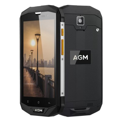 AGM A8 SE MSM8916 Quad Core 1.2GHz 2GB RAM 16GB ROM IP68 Waterproof OTG Function 4050mAh Battery 4G Smartphone