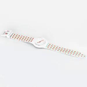 Stylish Quartz Watch Triangle Pattern Analog Indicate