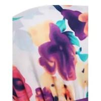 Multi 3xl Strapless Floral Plus Size Long Summer Dress ...