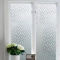 2018 Geometric Electrostatic Glass Window Wall Sticker In