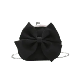 Chain Bow Crossbody Bag -