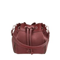 String PU Leather Handbag -