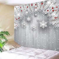 Silver Gray W79 Inch * L59 Inch Wall Hanging Christmas