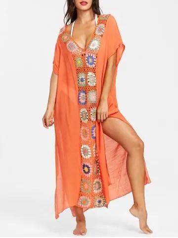 Risultati immagini per https://www.rosegal.com/cover-ups-kaftans/floral-crochet-maxi-cover-up-2147208.html