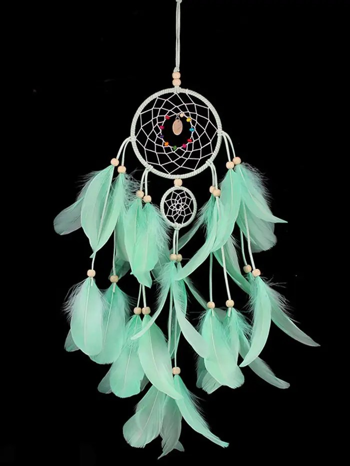 2019 Decorative Wall Hanging Feathers Dream Catcher