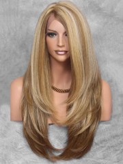 layered side part long