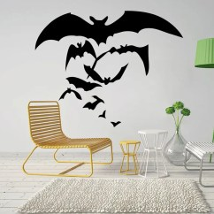 Bat Living Room Small Design Photo 30 Off 2019 Halloween Bedroom Decoration Outfit Removable Wall Sticker
