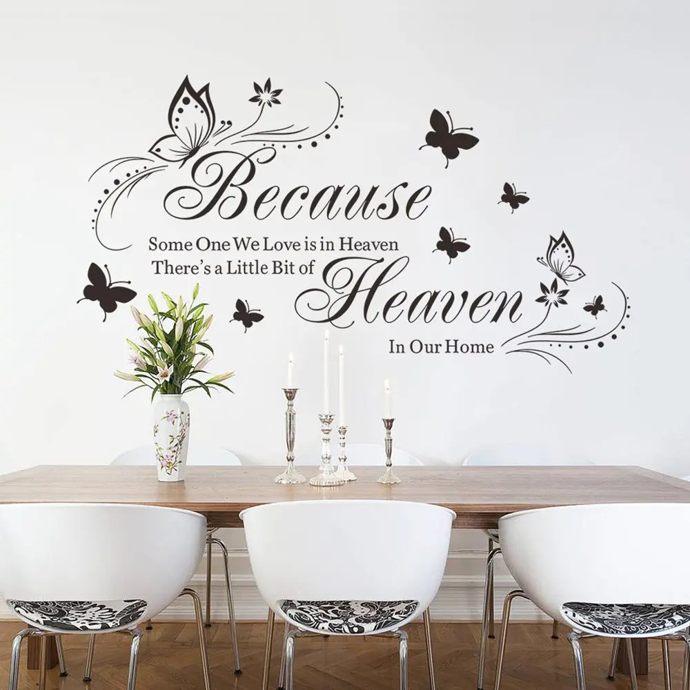 wall stickers living room tiles design in 2019 zyva 8311 na english butterfly carved bedroom shop sticker
