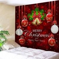 [ 53% OFF ] 2018 Wall Decor Merry Christmas Bell Ball
