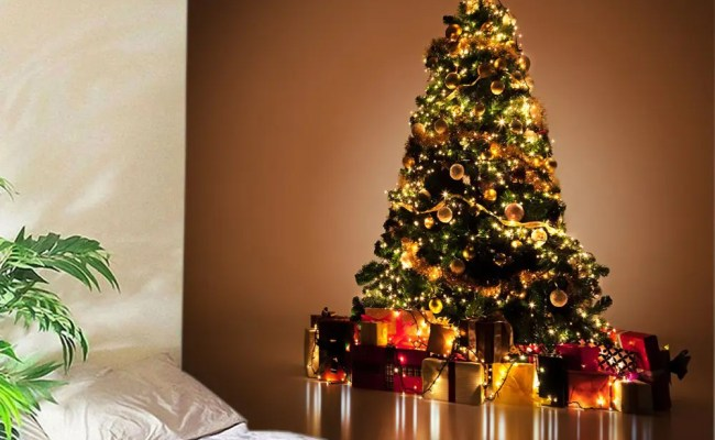 53 Off Christmas Tree Gift Print Tapestry Wall Hanging