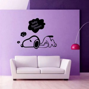 dog wall decor dream bedroom stickers puppy sticker decal mural sweet quote decals poster diy rosegal decoration