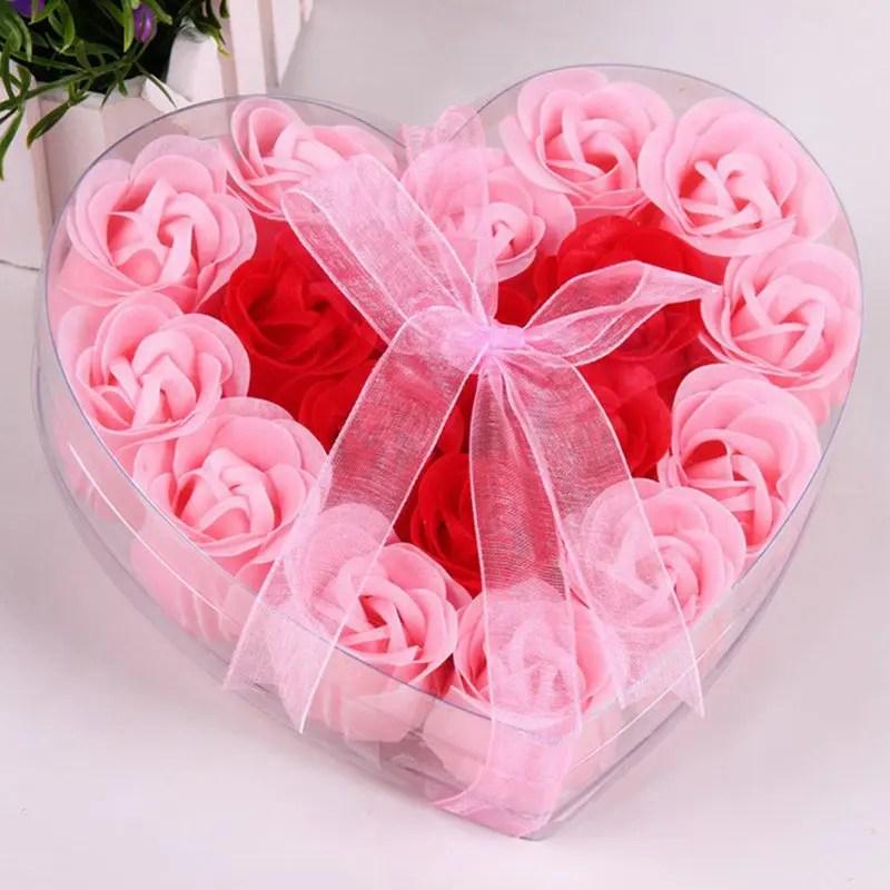 soap flower box gift