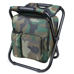 Fishing Chair With Cooler Twin Bed Sleeper 2019 Portable Folding Backpack Bag Stool Beach For Camping Hiking Picnics ...