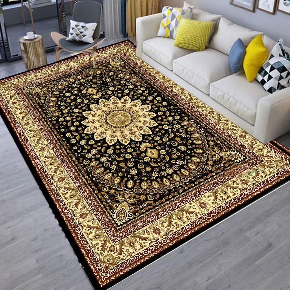 living room floor mats ergonomic furniture 2019 mat modern vintage style thick soft anti slip new