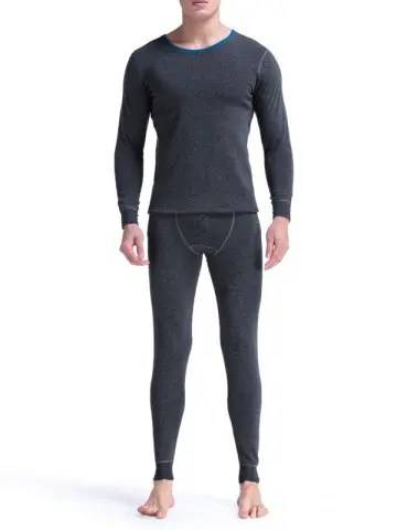 Round Neck Thermal Underwear Suit