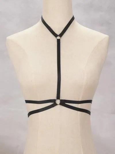 Zaful Y Shaped Bra Bondage Harness Body Jewelry