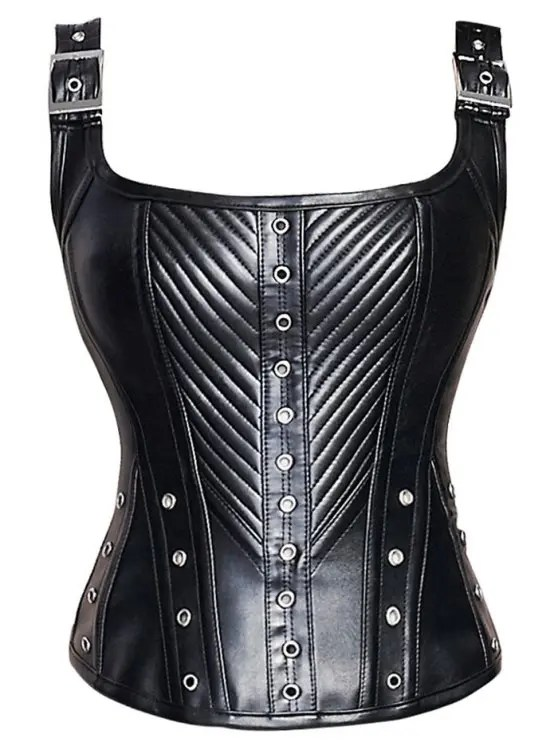 lace up slimming faux