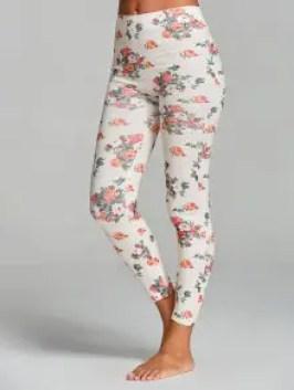 Floral Printed Yoga Leggings