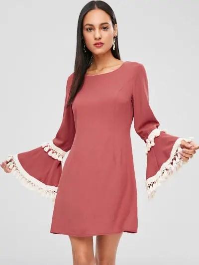 Tassels Mini Dress
