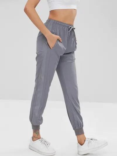 Striped Side Sports Pants