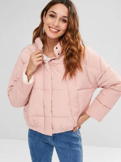 Pocket Quilted Coat