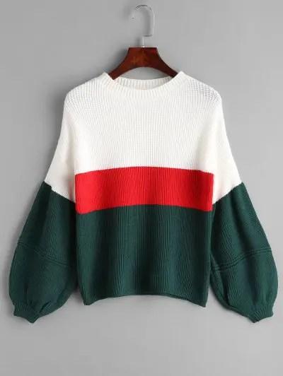 Lantern Sleeve Sweater