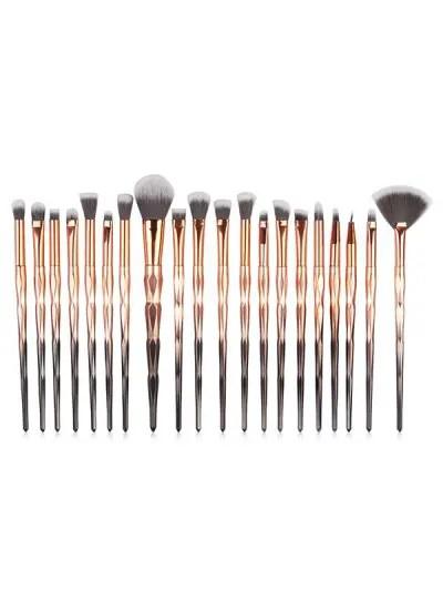 20 Pcs Omber Fiber Makeup Brush Collections