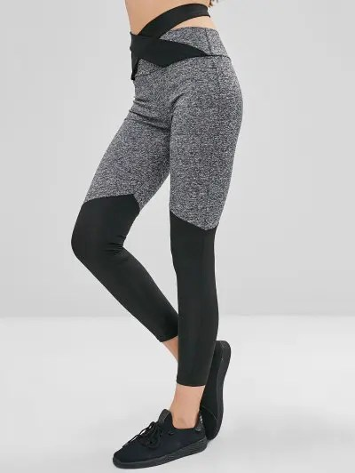 Knotted High Waisted Leggings