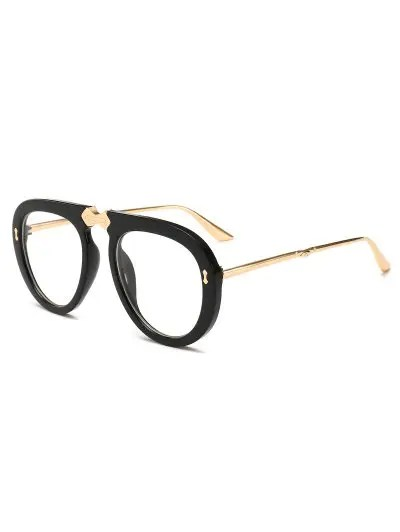 Retro Alloy Frame Holiday Sunglasses