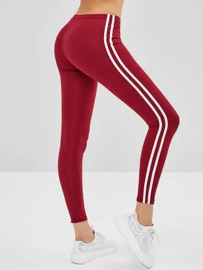 Striped Side Leggings