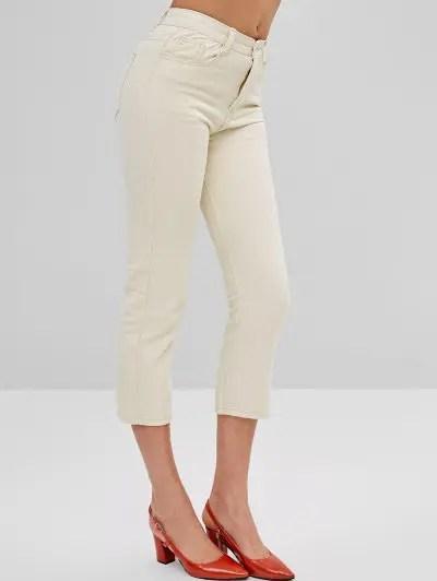 Pockets Capri Jeans