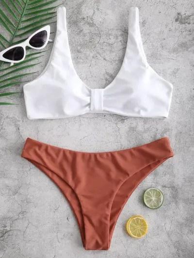 Knotted Bikini Set